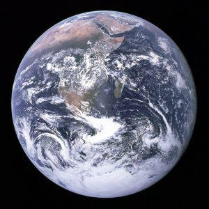 Вид Земли с Аполлона