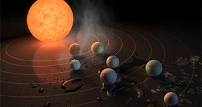 NASA обнаружили 3 планеты пригодные для жизни