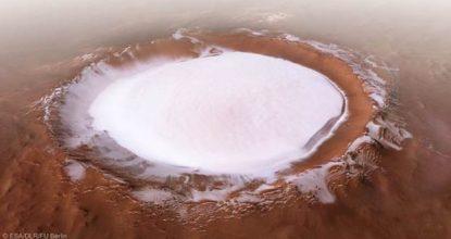 На Марсе есть огромное количество воды